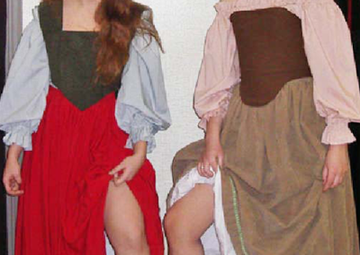1700 Renaissance Wenches